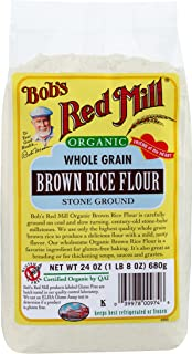 Bob's Red Mill Organic Brown Rice Flour, 24 Ounce