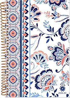 "bloom daily planners 2019-2020 Academic Year Day Planner Calendar (August 2019 Through July 2020) - 6"" x 8.25"" - Weekly/Monthly Yearly Agenda Organizer with Tabs - Paisley"