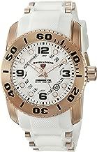 Swiss Legend Men's 'Commander Pro' Swiss Quartz Stainless Steel Casual Watch (Model: 10069-RG-02S-WHT)