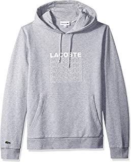 Lacoste Men's Long Sleeve French Terry Graphic Sweater