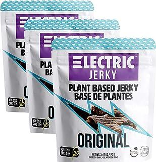 Electric Jerky 1.0 - 3 Pack - Original - Plant Based Vegan Jerky
