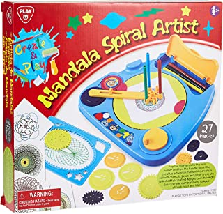 PlayGo Mandala Spiral Artist - 3 Years & Above (Multi Color 4892401073556)