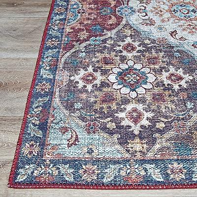 Couristan Pasha 4717/0717 Lola Multicolor Area Rug, 8' x 10'