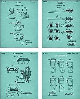 Best bathroom patent art Reviews