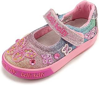 Girls Mary Jane Sparkle Shoes LK3014 Rainbow Jackie (Toddler)
