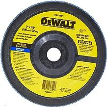 DEWALT Disco Flap Plástico Reto de 7 Pol. x 7/8 Pol. (177mm x 22mm) DW8324PAR