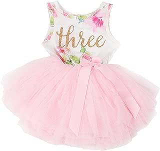 Grace & Lucille 3rd Birthday Dress (Sleeveless)