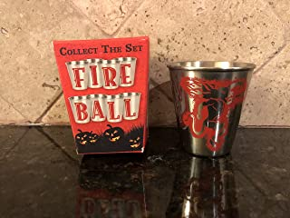 Fireball Whiskey Stainless Steel Shot
