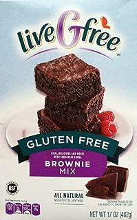 Live G Free Gluten Free Brownie Mix