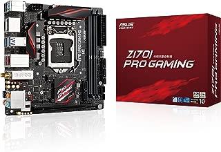 ASUS LGA1151 DDR4 DisplayPort HDMI SATA 6Gb/s USB 3.1 Mini-ITX Motherboard Z170I PRO Gaming