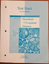 Best corporate finance ross test bank Reviews