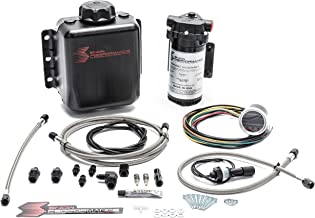 Stage 2 Boost Cooler™ Forced Induction Progressive Water-Methanol Injection Kit (Stainless Steel Braided Line, 4AN Fittings)