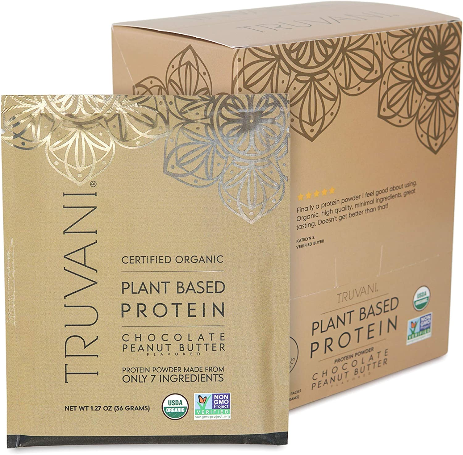 TRUVANI - Plant Based Protein Free Our shop most popular shipping anywhere in the nation Organic Powder USDA Certified Pr