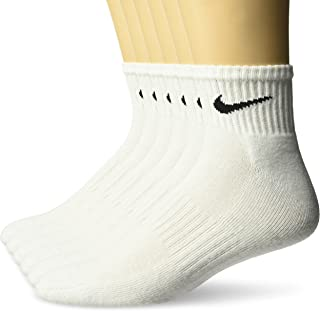 Performance Cushion Quarter Socks with Band (6 Pairs)