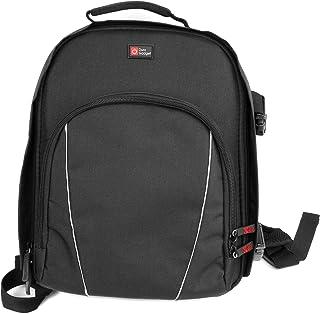 DURAGADGET Mochila Ajustable Con Compartimentos Para Cámara Nikon D5200/ D5300 /D5100 + Funda Impermeable