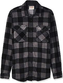 Authentics Men's Long Sleeve Heavy Weight Fleece Shirt