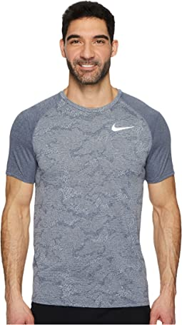 Dry Miler Short-Sleeve Running Top