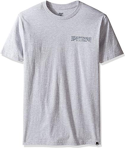 DC Lorsque les porcs Flye T-shirt pour hommes, petit, gris Heather