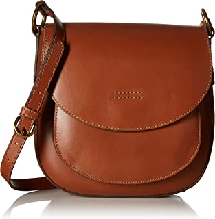 Harness Saddle Leather Crossbody Bag