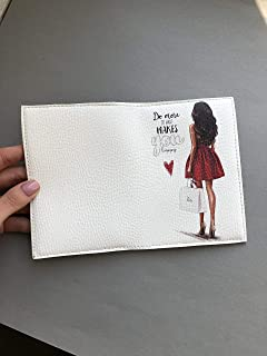 Fashion passport holder ID credit cards wallet eco leather organizer travel accessory
