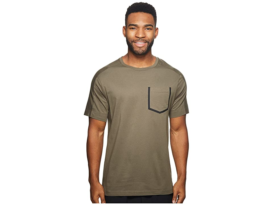 Reebok Training Supply Move Tee (Army Green) Men