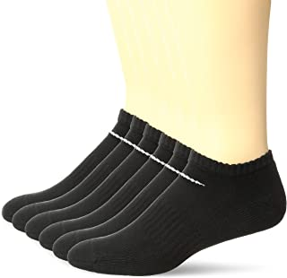 Performance Cushion No-Show Socks with Bag (6 Pairs)