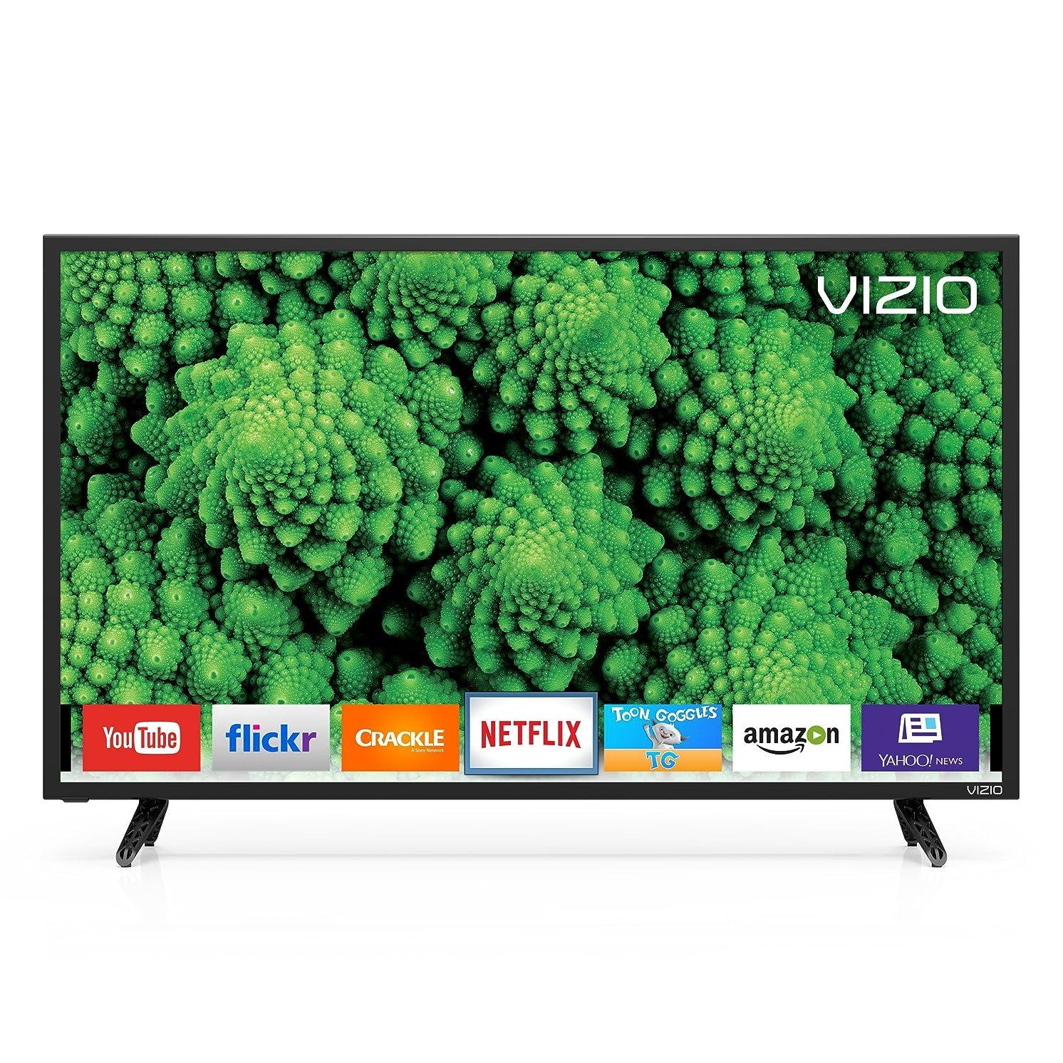 "VIZIO D-series 39"" Class (38.5"" diag.) LED Smart TV (Renewed)"