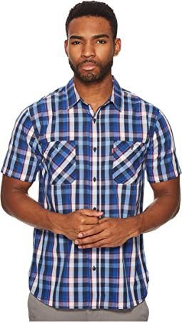 Levi's® - Barrington Short Sleeve Plaid Shirt