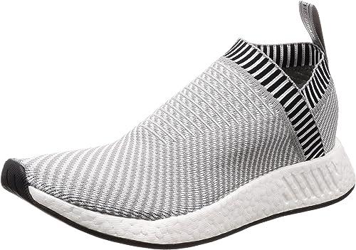 Adidas Originals NMD_CS2 PK, DGH Solid gris-FTWR blanc-Shock rose