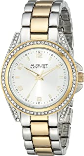 August Steiner Women's Vida Analogue Display Quartz Watch with Alloy Bracelet