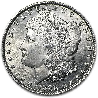 1888 Morgan Dollar BU $1 Brilliant Uncirculated