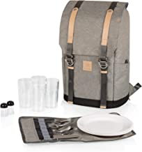 PICNIC TIME PT-Frontier Picnic Backpack, Heathered Gray