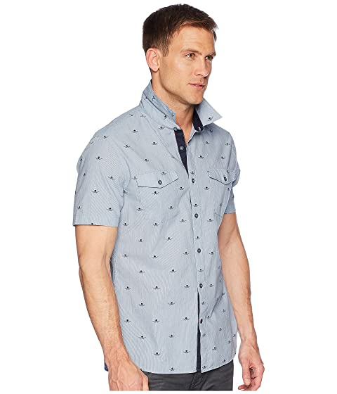 Varvatos Short Star Sleeve S John A Chest W535U1B with U Pockets Shirt qwxg4F71F