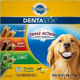 Explore dental treats for dogs