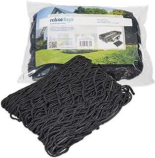 NERO Rete bagagli dimensione 120x150 cm Tappetino Rete rete auto Rete di protezione