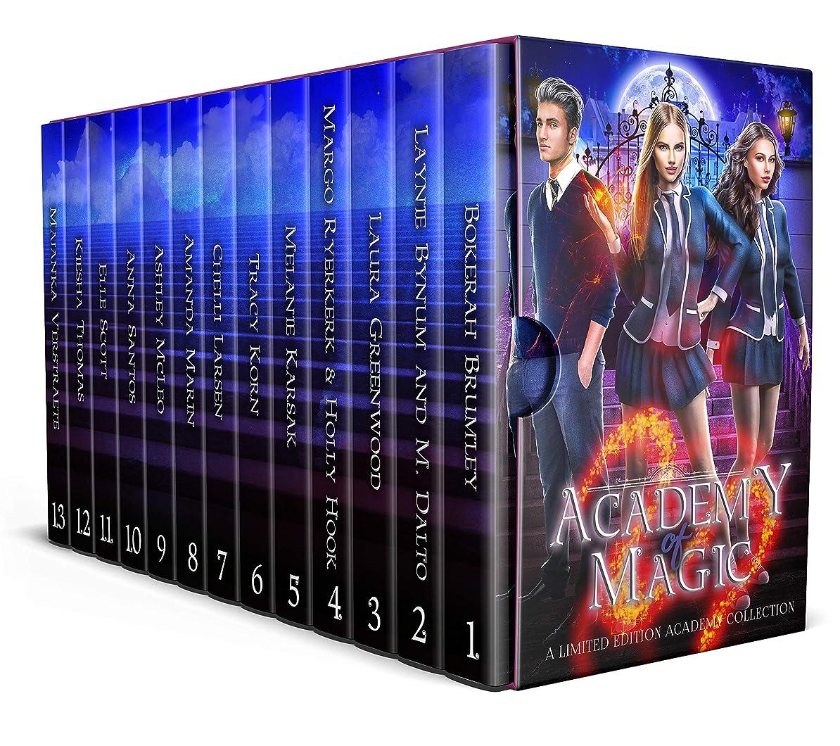 廃止ディンカルビル生理Academy of Magic (English Edition)