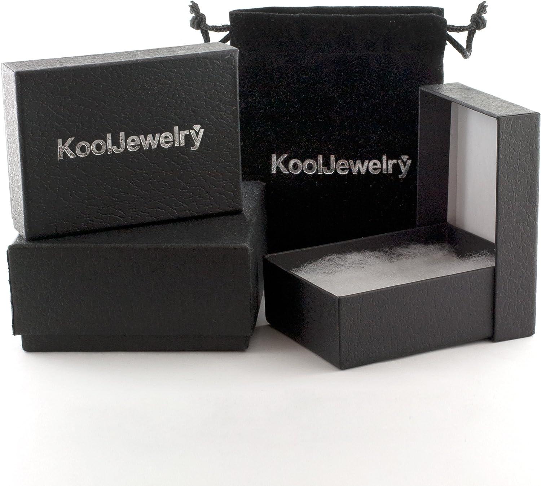 Kooljewelry 10k Yellow Gold High Polish Claddagh Ring (Size 4, 6, 7 or 8)