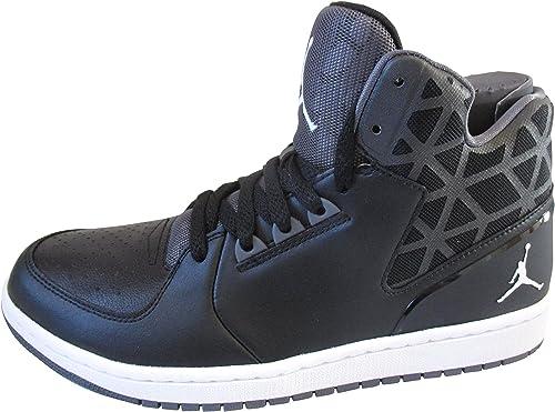 Nike Air Jordan 1, Chaussons montants homme - Noir - Noir/blanc ...