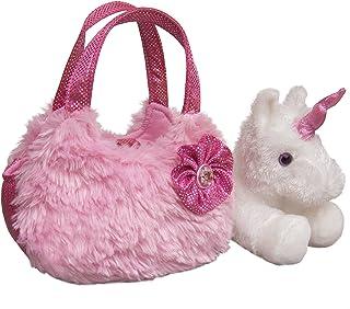 "Aurora - Pet Carrier - 7"" Plush Pink Pet Carrier"