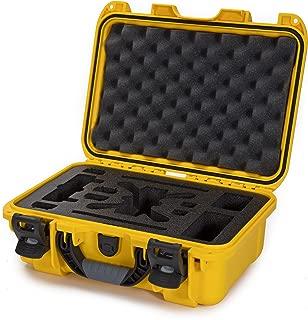 Nanuk 915-Spark Hard Case with Foam Insert for DJI Spark Flymore Camera, Yellow (915-SPARK4)