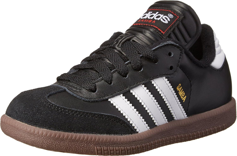 Adidas - Samba Classic J Kids Football shoes In Black   Running White, Size  2 UK, color  Black   Running White