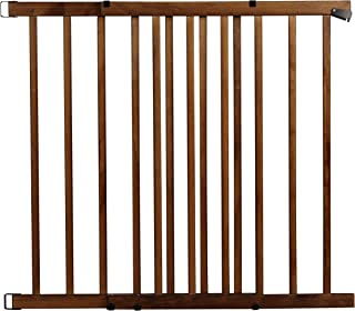 Evenflo Top of The Stair Extra Tall Hardware Mount Gate, Dark Wood