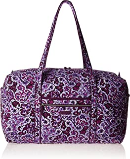 Women's Signature Cotton Large Duffel Travel Bag
