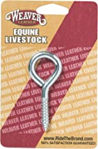 """Weaver Leather Card Hdwr, 3"""" Zp Screw Eye"""