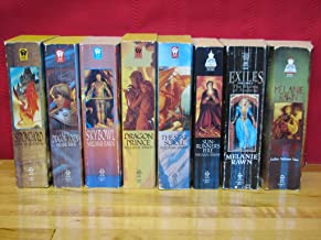 Dragon Prince Trilogy + Dragon Star Trilogy + Exiles: 8 Book Collection / 3 Complete Series by Melanie Rawn: (Dragon Prince Trilogy:  Dragon Prince / The Star Scroll / Sun-Runner's Fire;  Dragon Star Trilogy:  Stronghold  /  The Dragon Token  /  Skybowl;  Exiles Series:  The Ruins of Ambrai  /  The Mageborn Traitor)