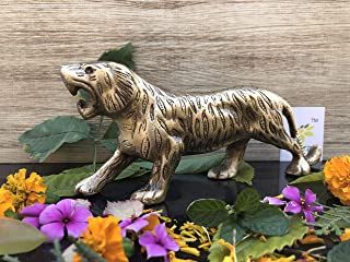 Aakrati Tiger Statue and Figurines for Home Decor and Gift - Tiger Sculpture for Living Room
