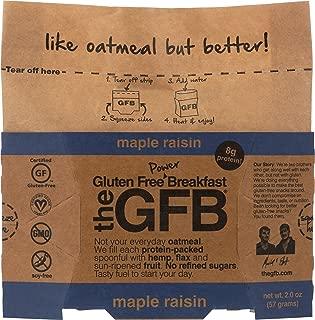 The Gfb, Oatmeal Power Breakfast Maple Raisin, 2 Ounce