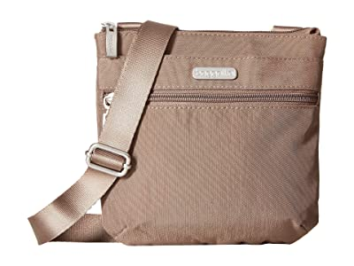 Baggallini Legacy RFID Small Zip Crossbody (Portobello) Cross Body Handbags