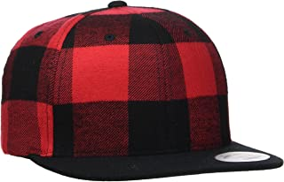 Flexfit Checked Flanell Snapback Blk/cha One Size