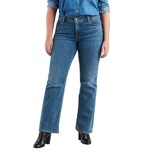 4b640a44faf Levi s Women s Plus-Size 415 Classic Bootcut Jeans